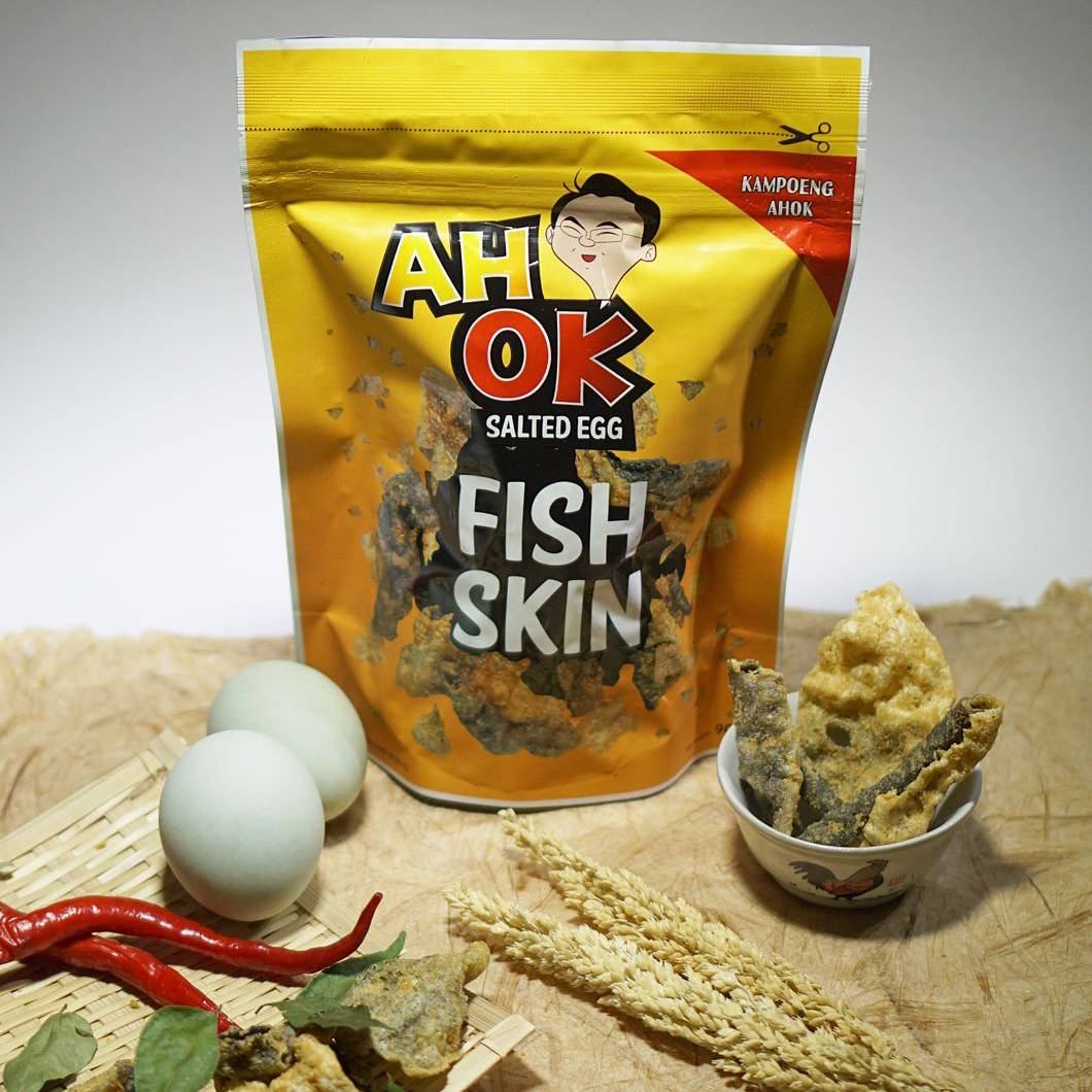 Original Ah Ok Fish Skin