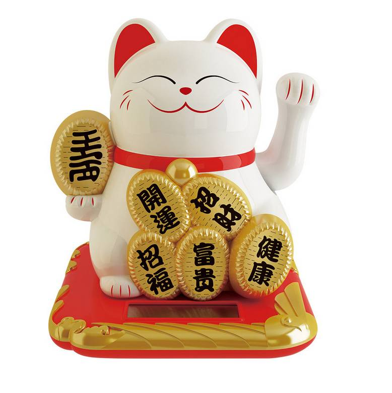 Maneki Neko / Lucky Cat / Kucing Hoki Lc-001