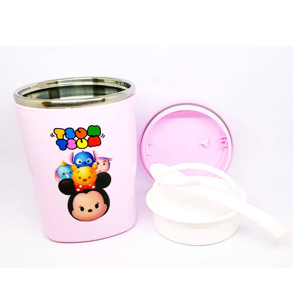 Tsum Tsum Lunch Box Stainless Steel