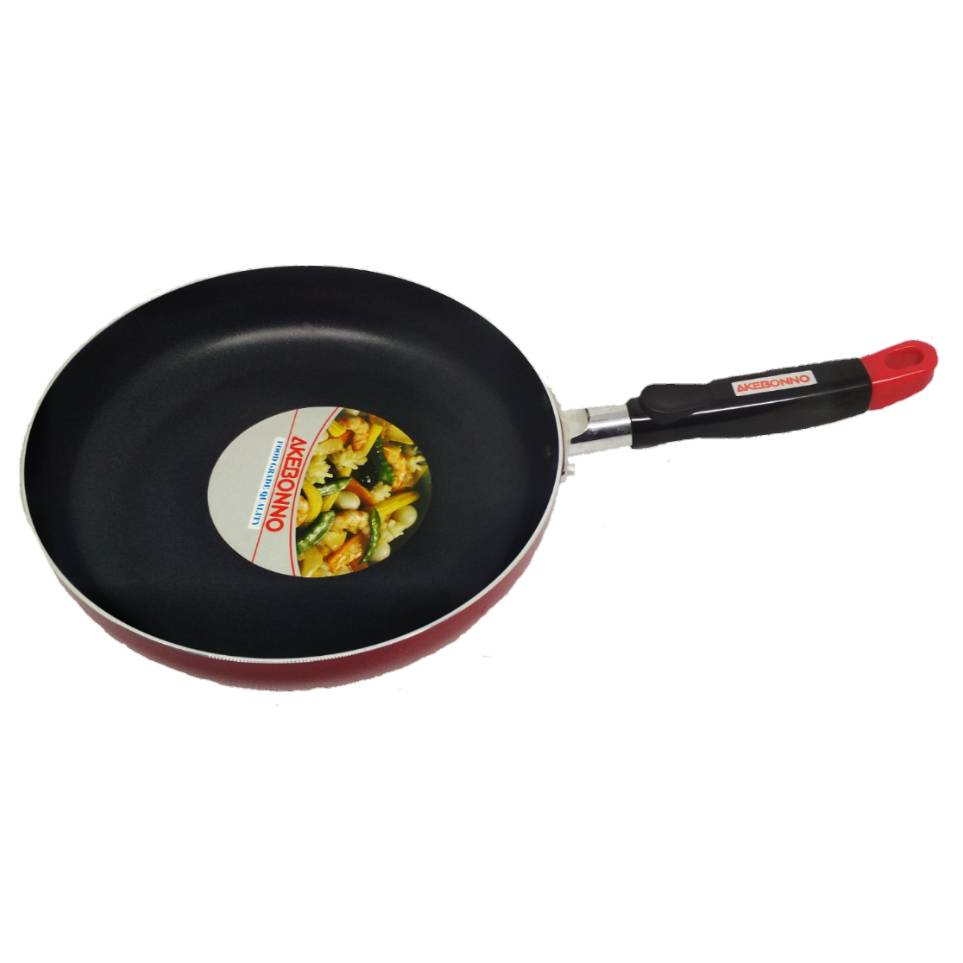 Wajan Penggorengan Fry Pan 16 Cm Gagang Merah0