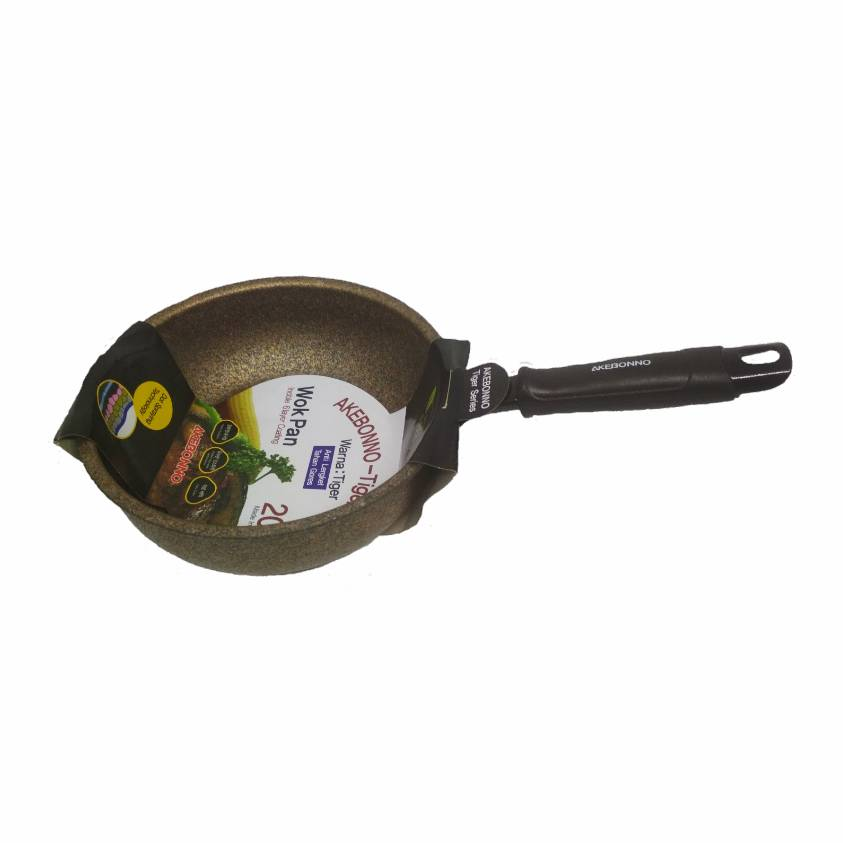 Wajan Penggorengan Wok Pan 32 Cm Tiger Series (inoble)