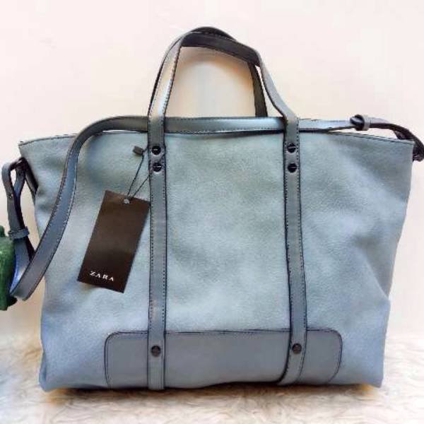 Tas Zara Basic --- Blue