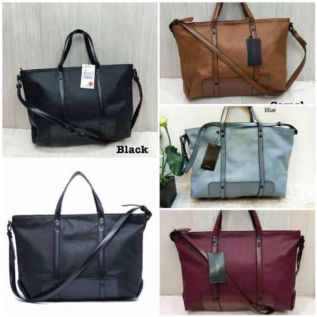 Tas Zara Basic --- Green