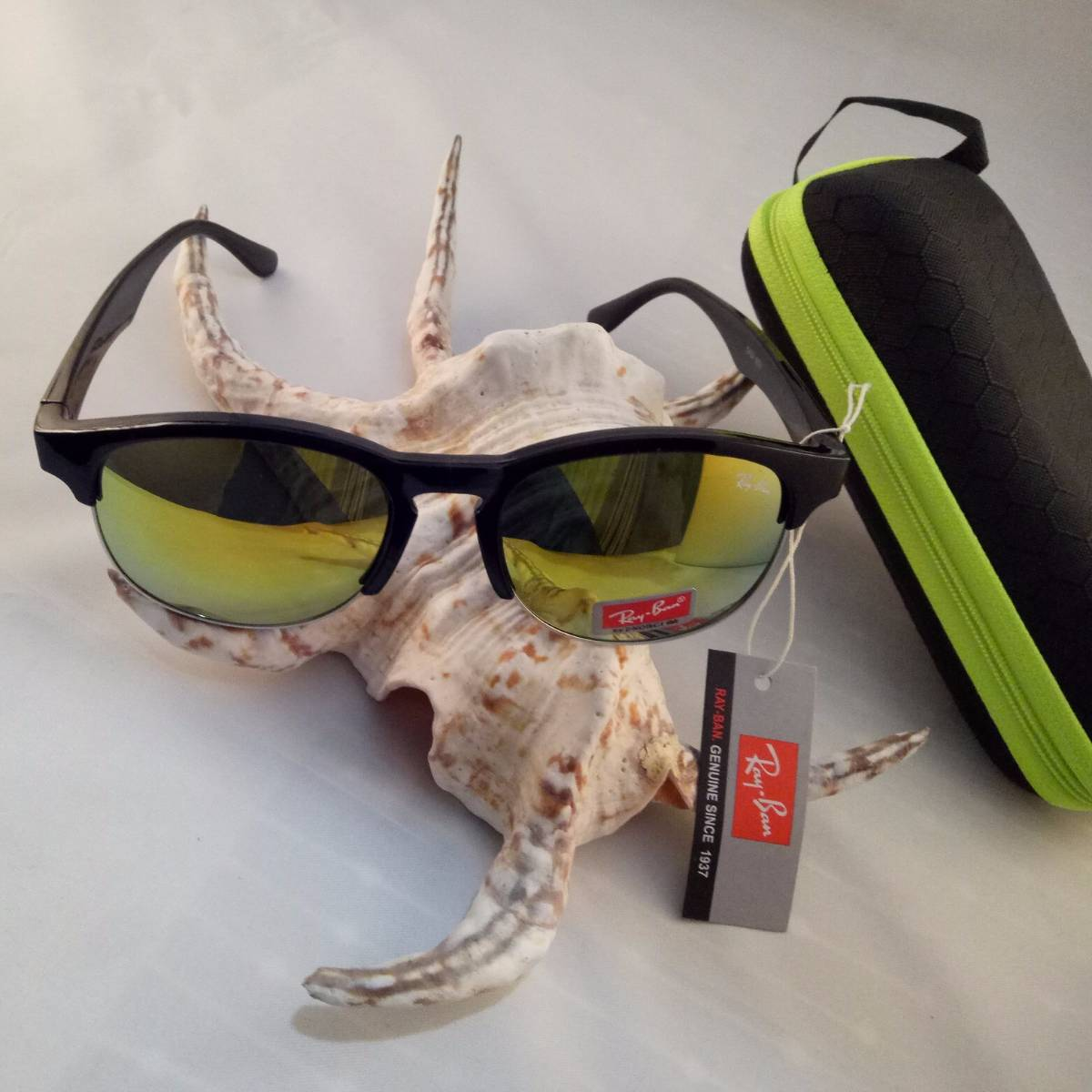 Kacamata Rayban F1 Yellow0
