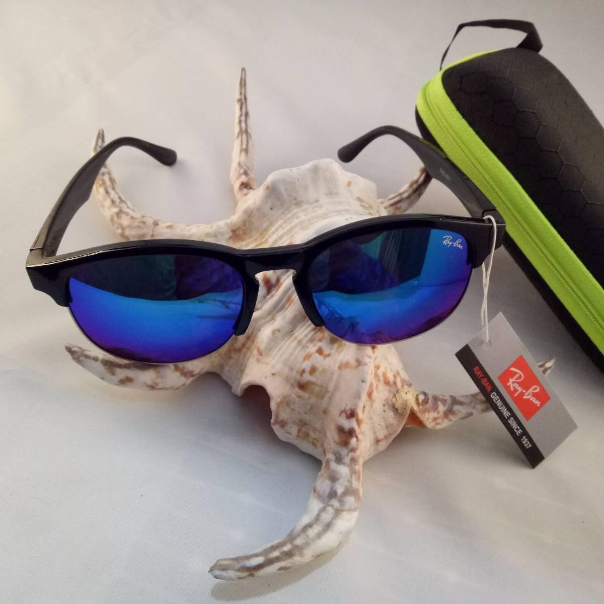 Kacamata Rayban F1 Light Blue