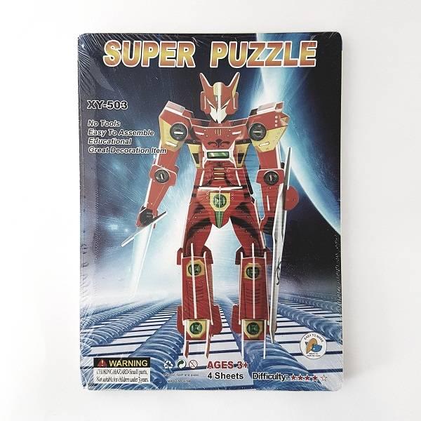 Puzzle 3d - Robot Transformer