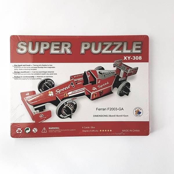 Puzzle 3d - Ferrari F2003-ga