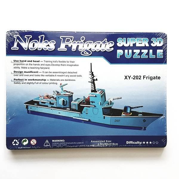 Puzzle 3d - Noks Frigate