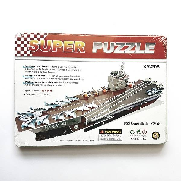 Puzzle 3d - Uss Constellation Cv-640