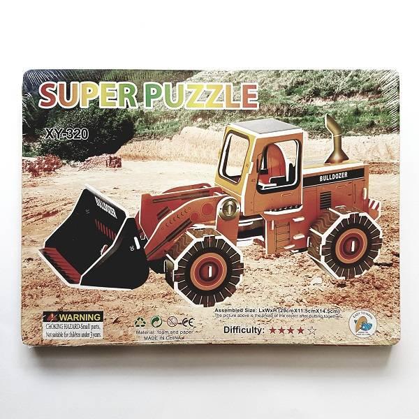 Puzzle 3d - Buldozer