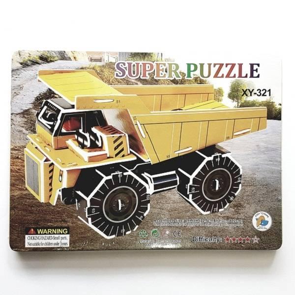 Puzzle 3d - Dump Truck