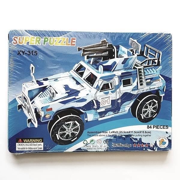 Puzzle 3d - War Car