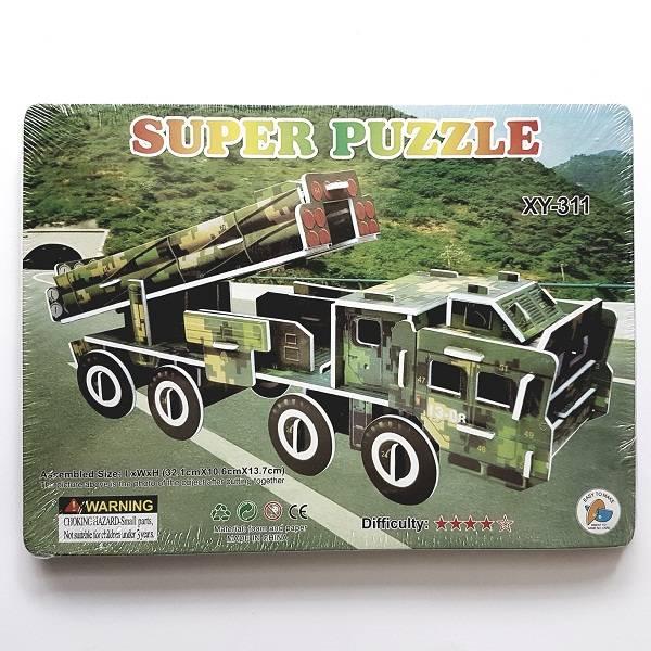 Puzzle 3d - War Truck