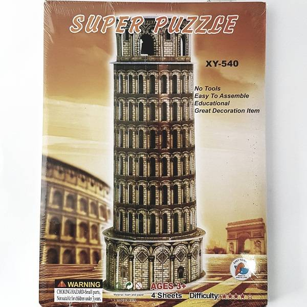 Puzzle 3d - Pisa Tower
