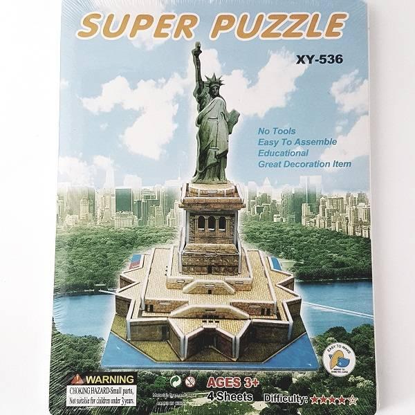 Puzzle 3d - Liberty Statue