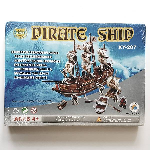 Puzzle 3d - Pirate Ship
