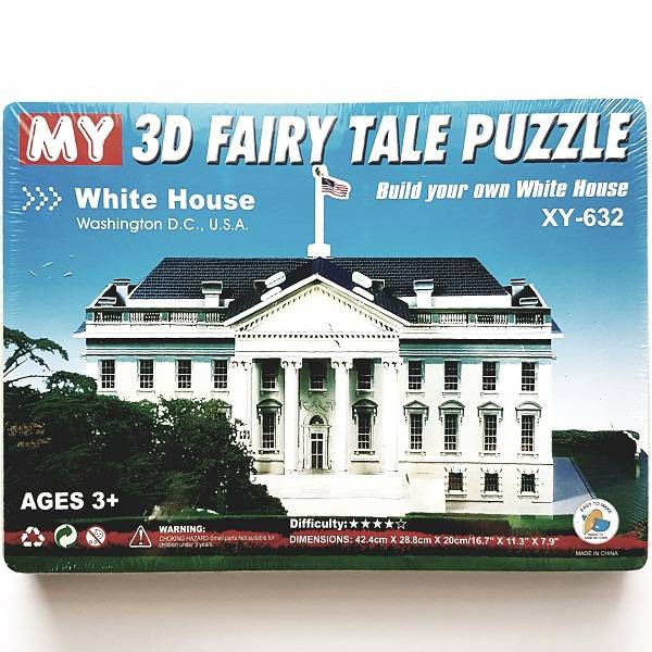 Puzzle 3d - White House Usa