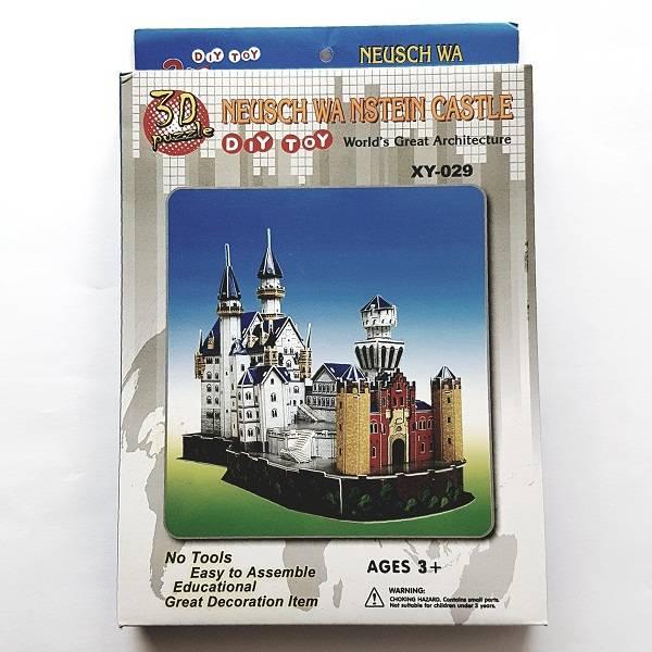 Puzzle 3d - Diy Toy Neusch Wa Nstein Castle0