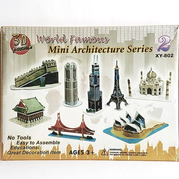 Puzzle 3d - World Famous Mini Architecture Series 2