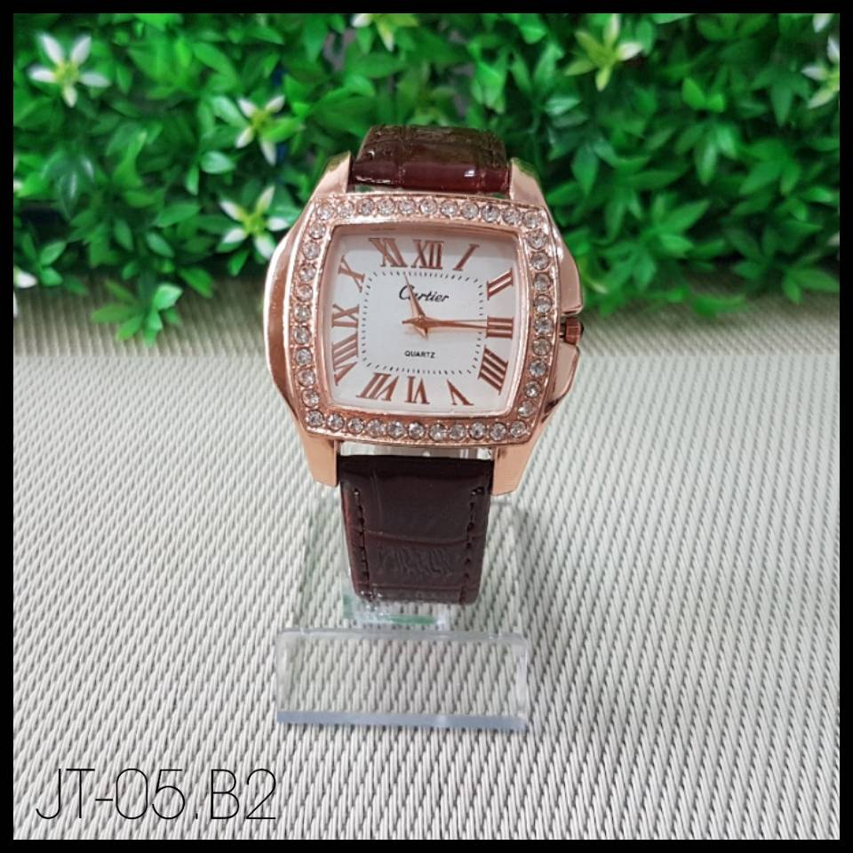 Jam Tangan - Cartier -  Brown0