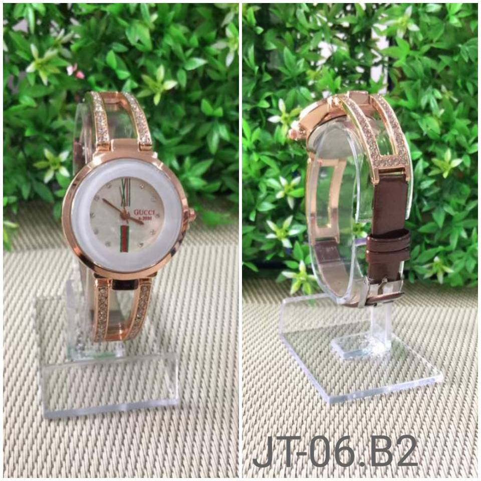 Jam Tangan Gucci A-2030 Brown