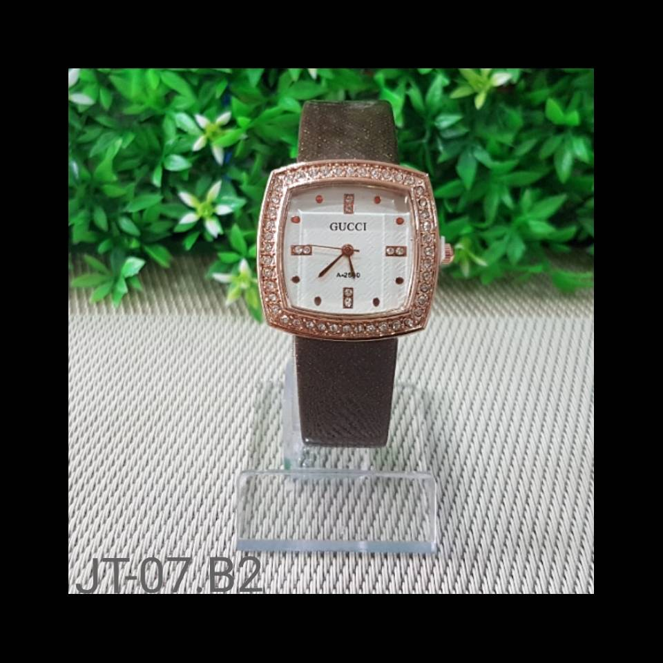 Jam Tangan Gucci A-2590 Brown