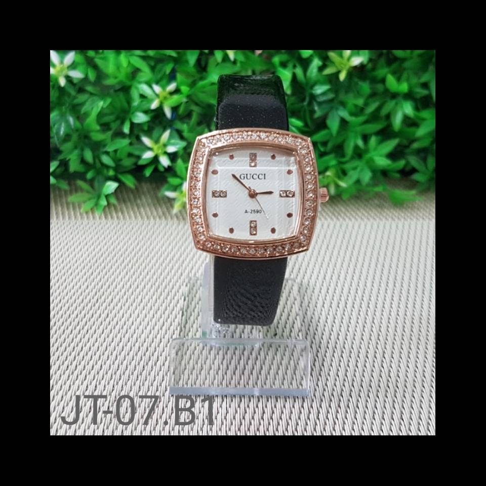 Jam Tangan Gucci A-2590 Black