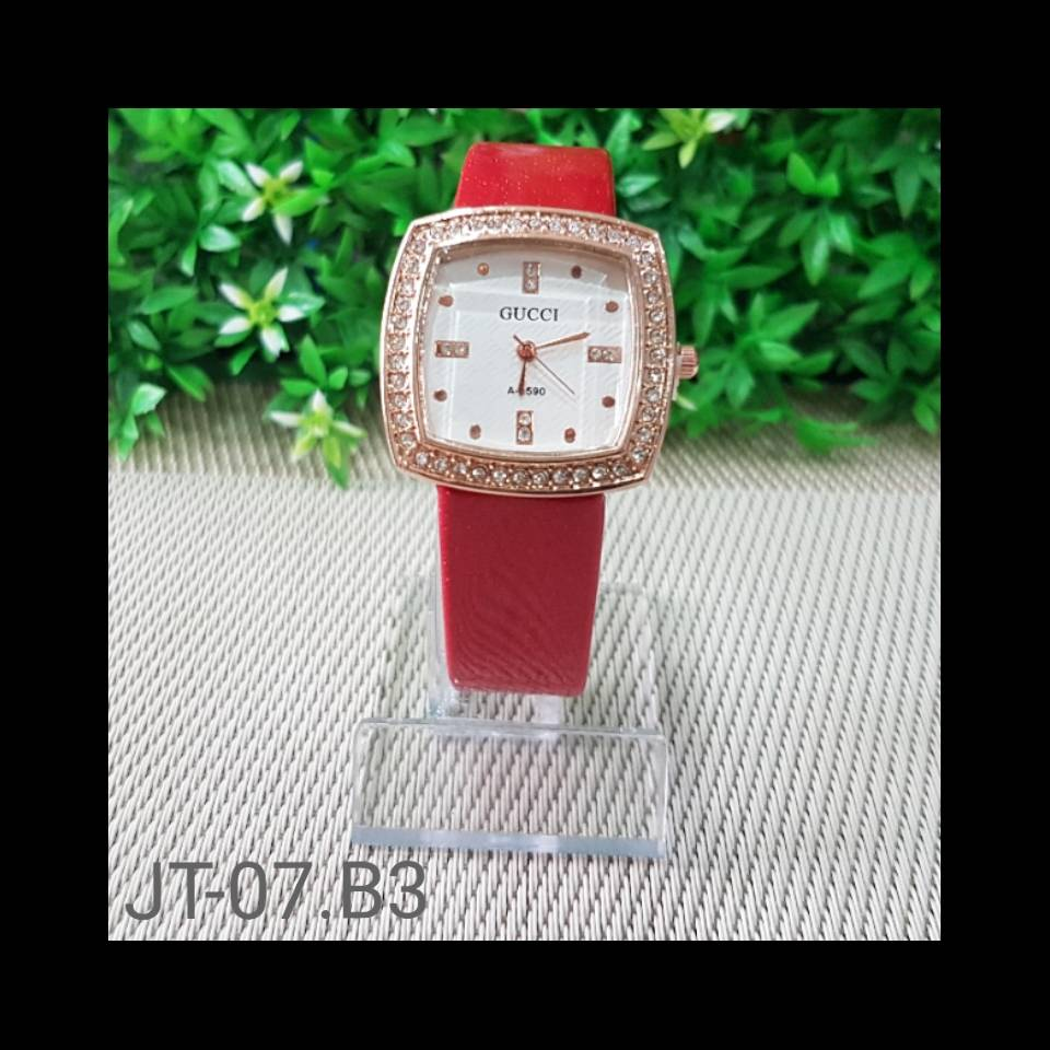 Jam Tangan Gucci A-2590 Red0