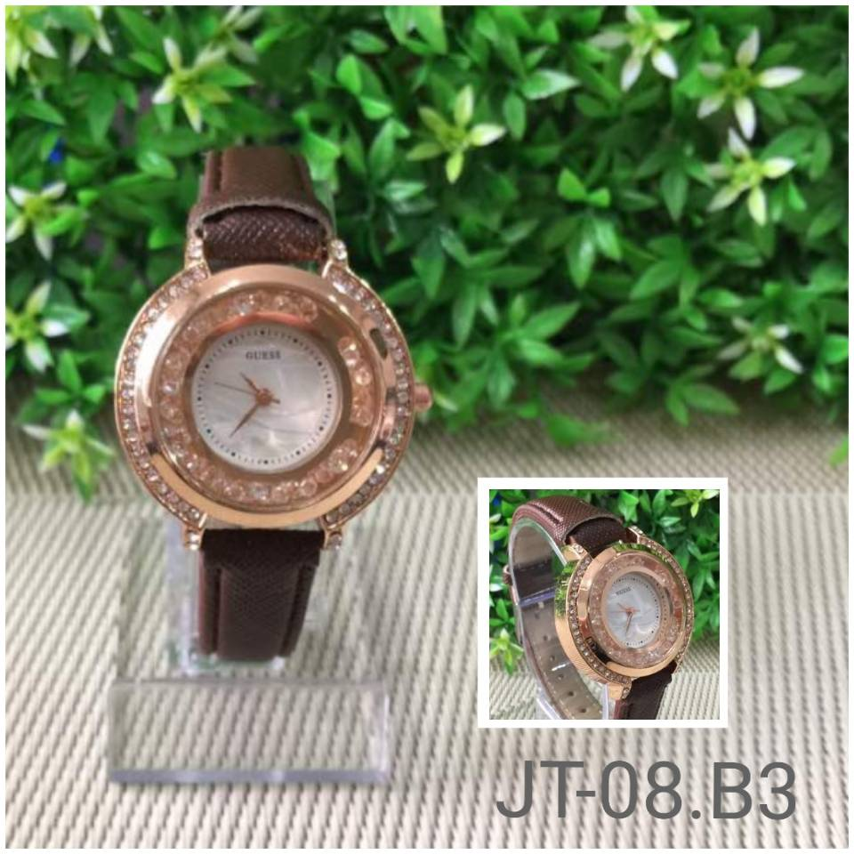 Jam Tangan Guess Starling Brown