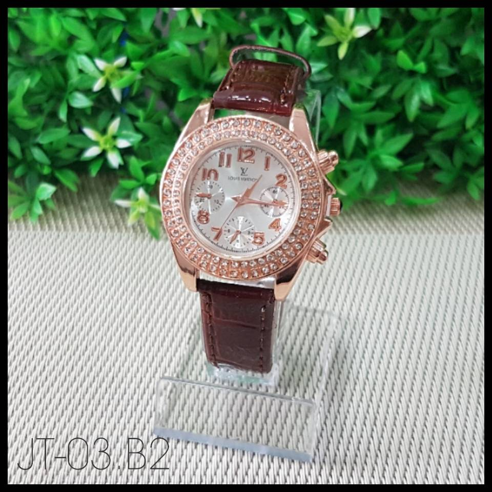 Jam Tangan Louis Vuitton Brown
