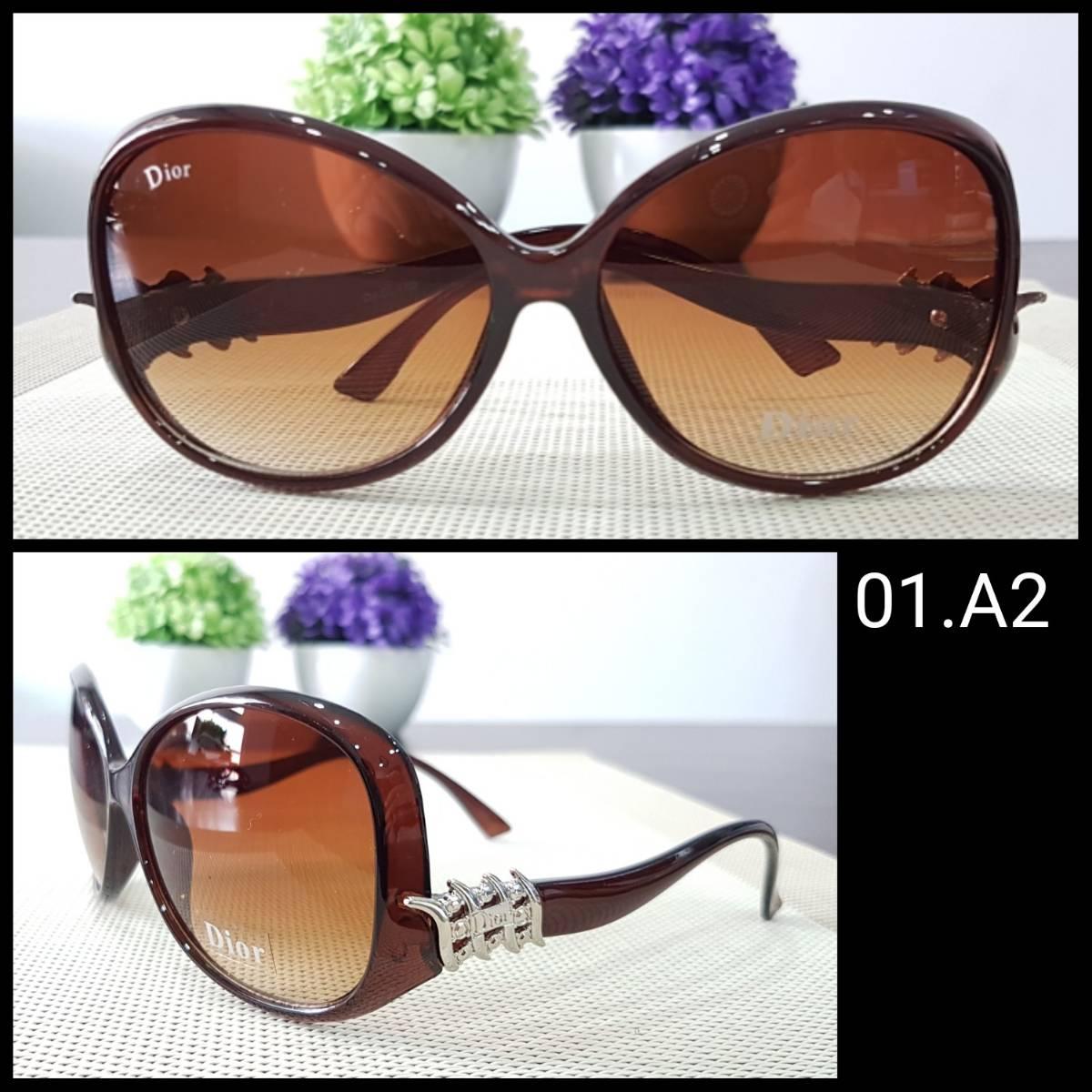 Kacamata Dior S3 Brown1