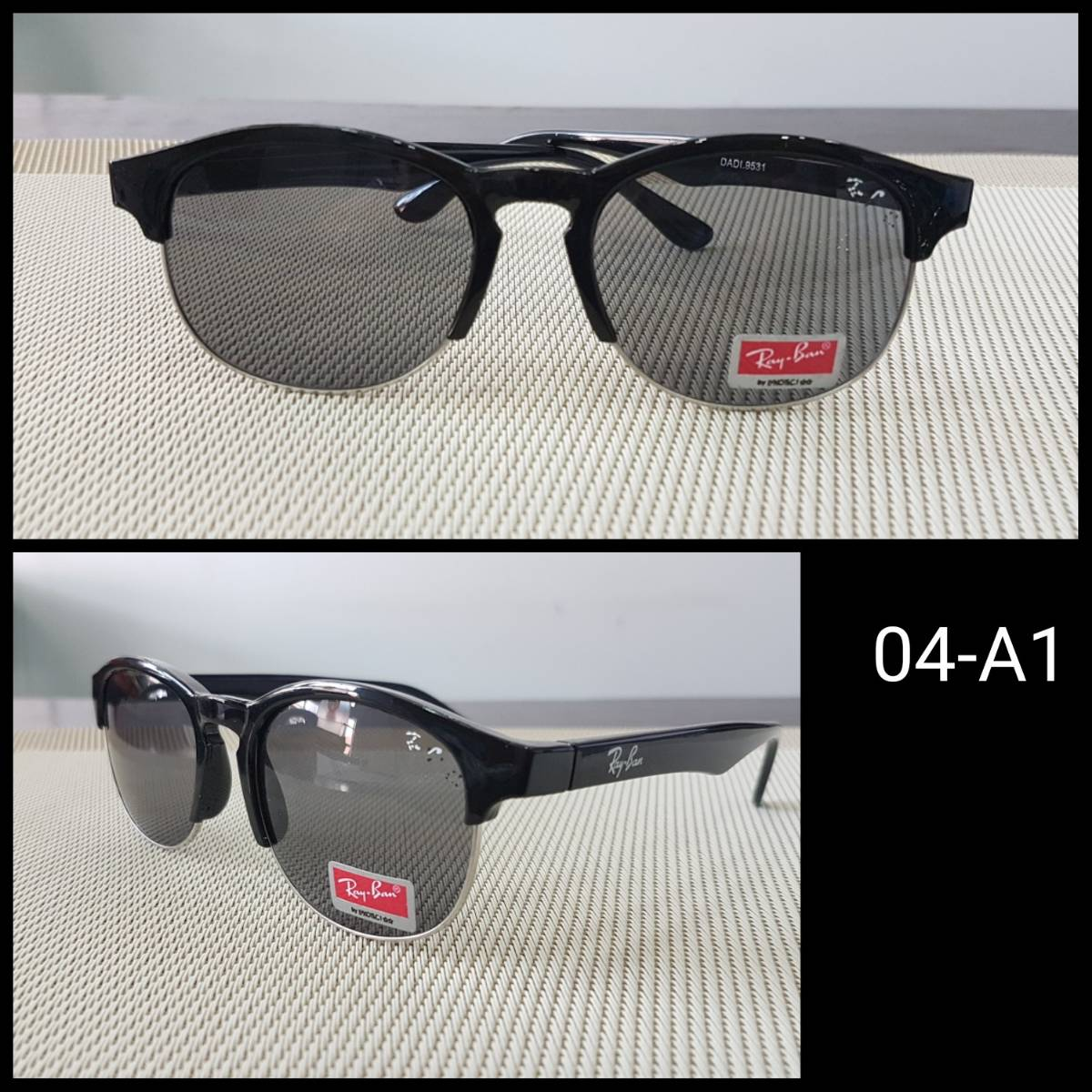 Kacamata Rayban F1 Black1