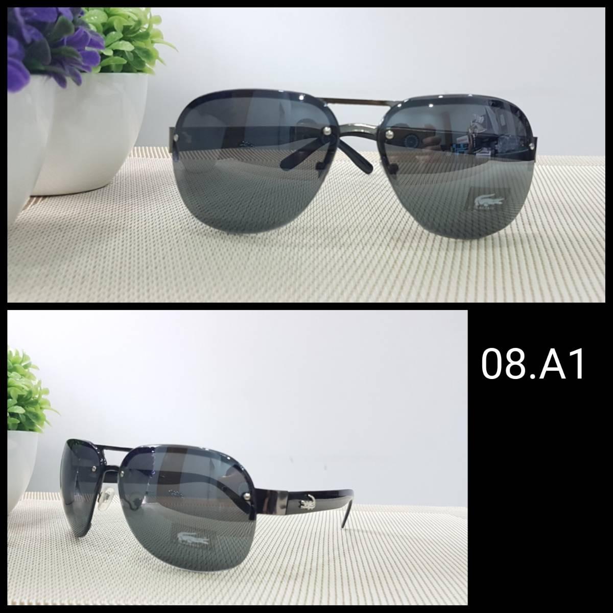 Kacamata Lacoste Black1