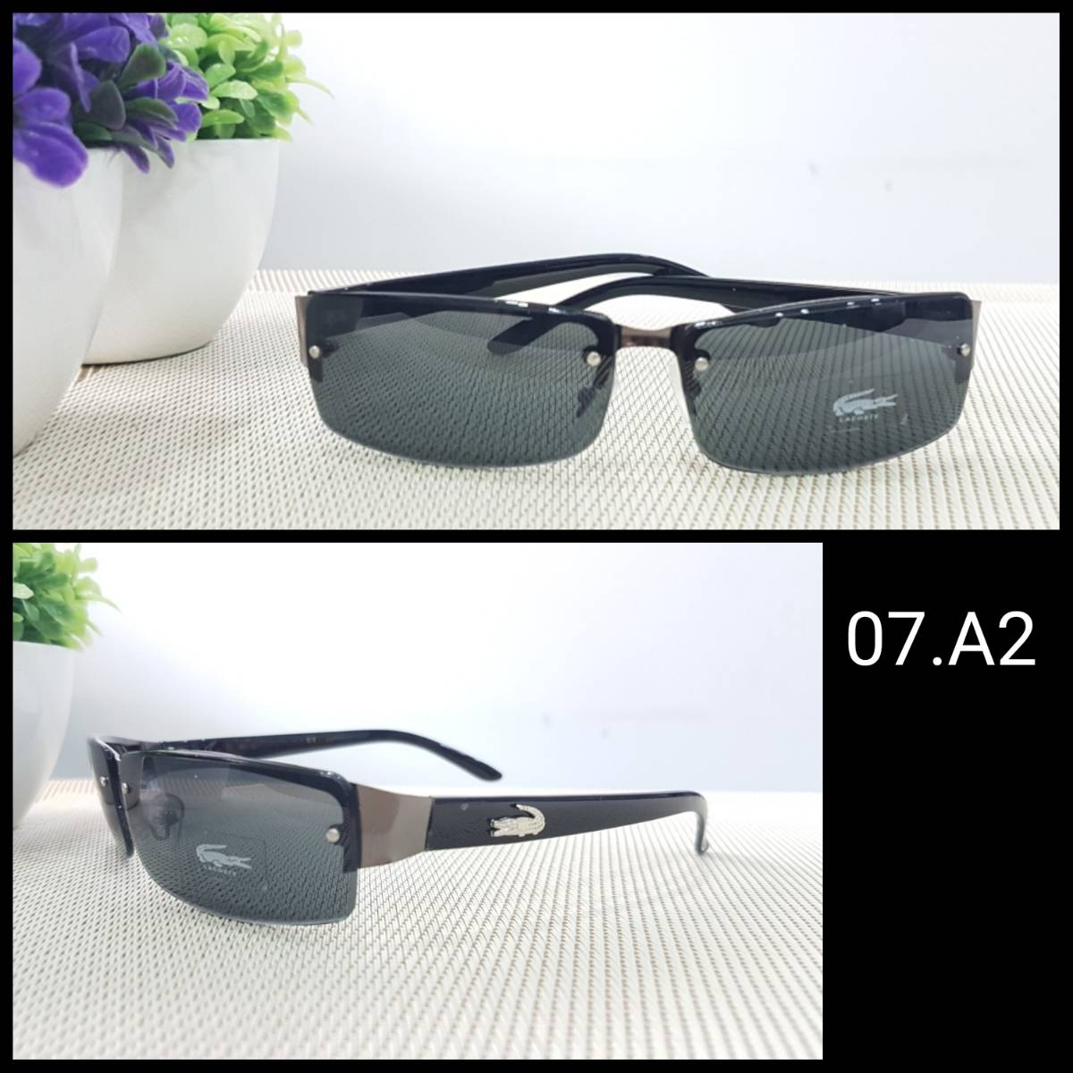 Kacamata Lacoste Km 007 Black1