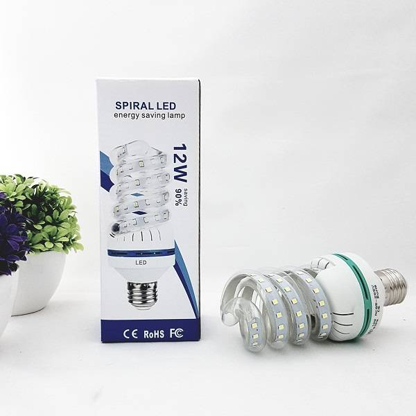 Lampu Led Spiral 12watt