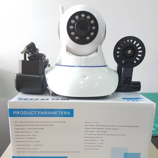 Cctv Ip Camera Wireless 2 Antena