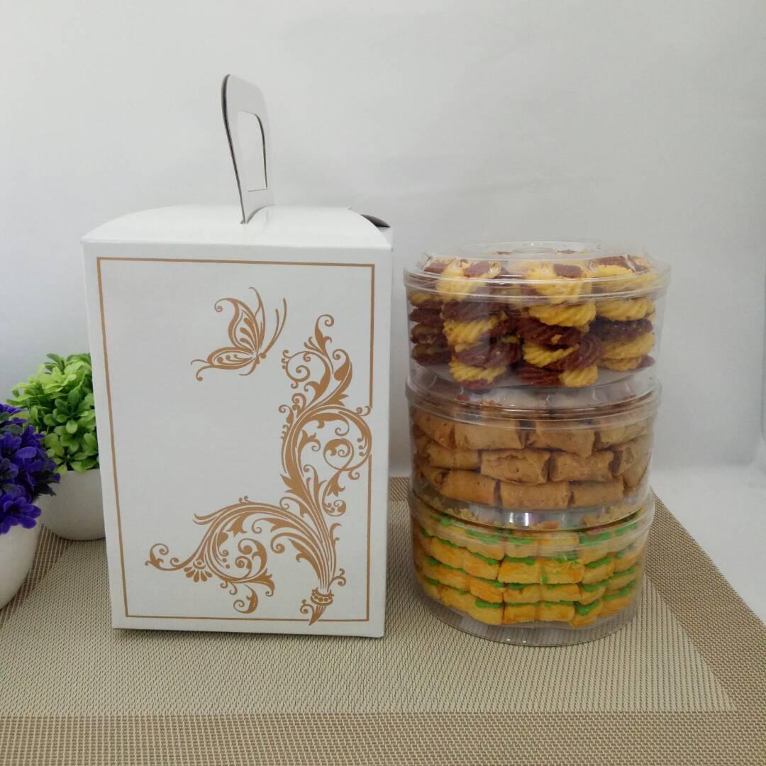 Kue Kering Spesial Dus Putih - Paket C