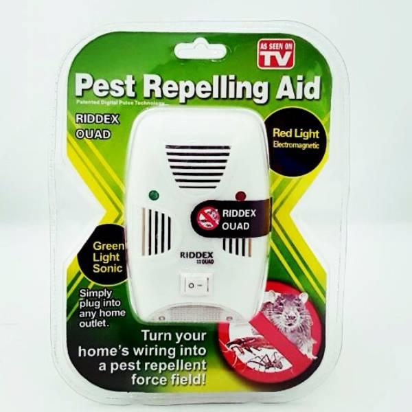 Pengusir Tikus & Serangga - Pest Repelling Aid Riddex Quad