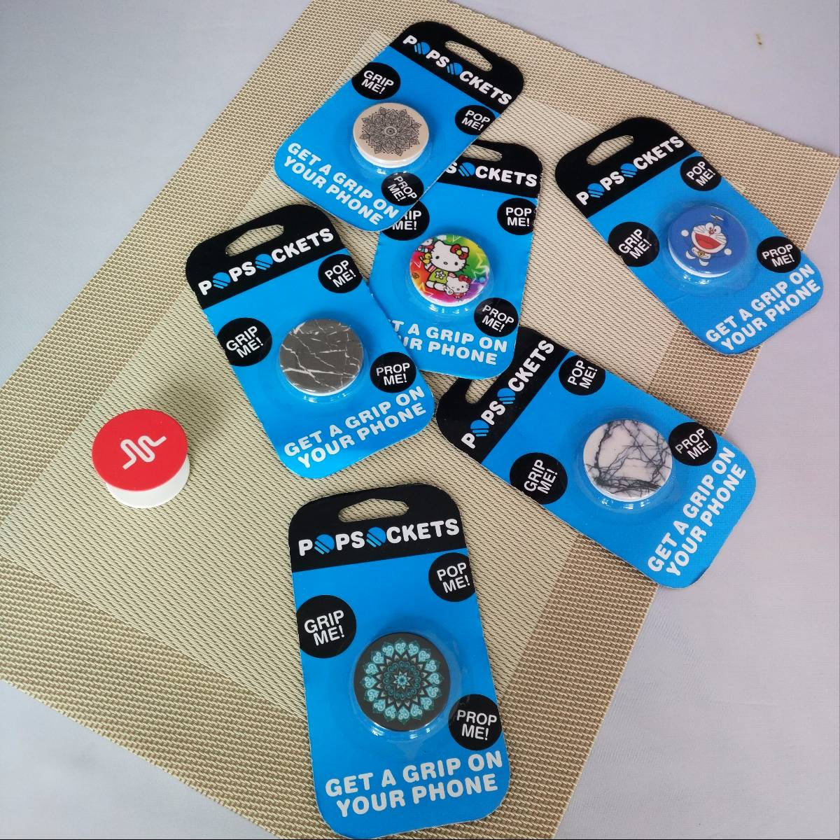 Pop Socket Phone Holder Iring Banyak Motif
