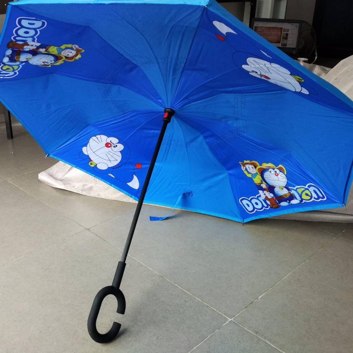 Payung Terbalik Karakter Kartun