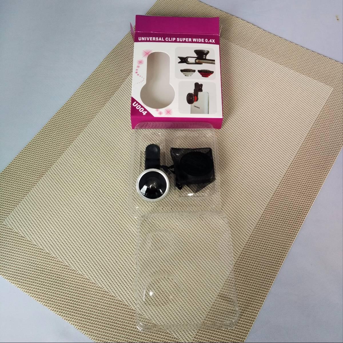 Lensa Jepit Cliplens Camera Universal Clip Super Wide 0.4x2
