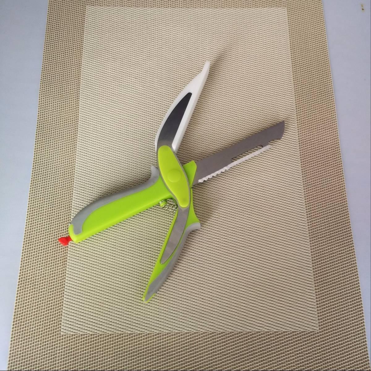 Clever Cutter Pisau Dapur Serbaguna 6 In 12