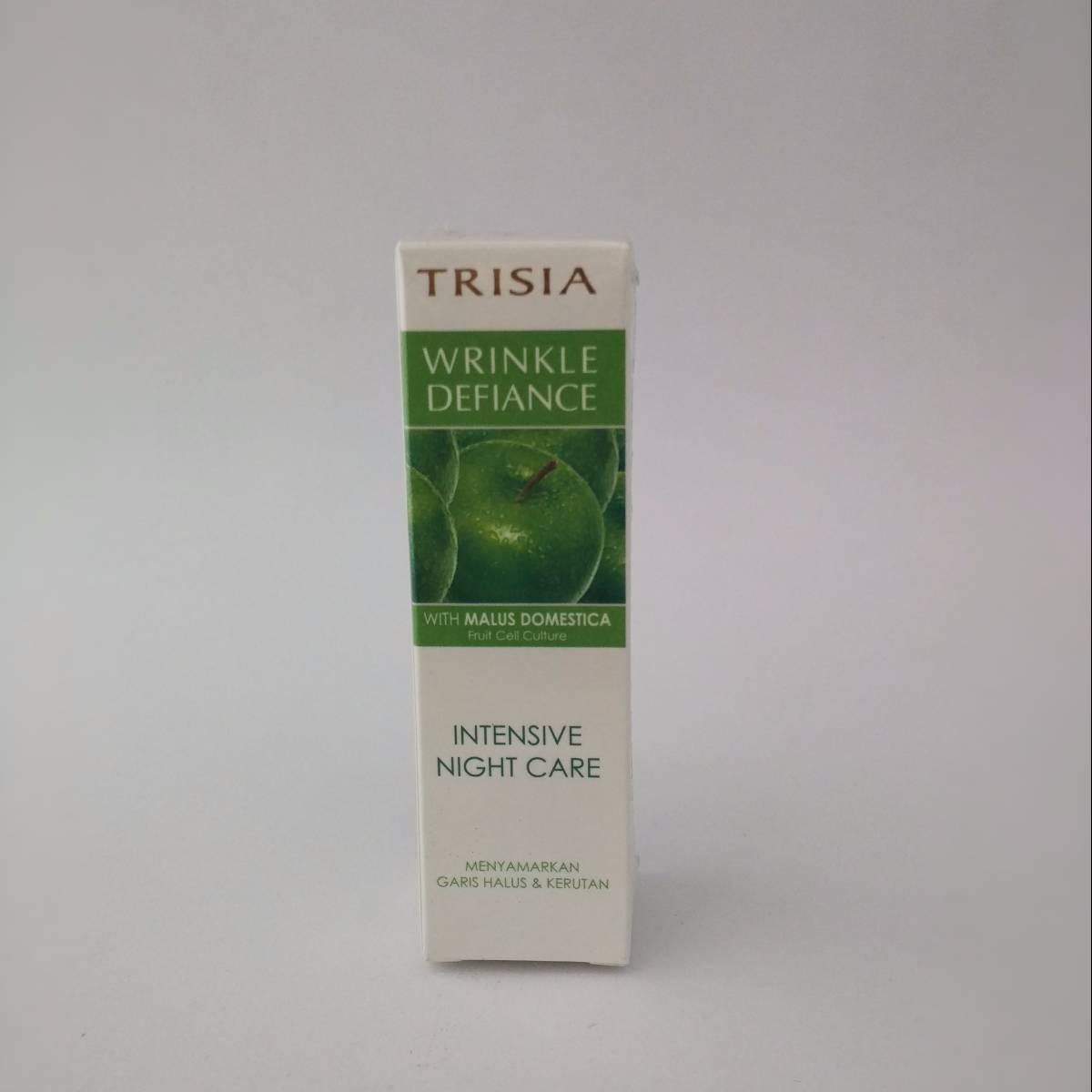 Trisia Intensive Night Care Anti Wrinkle Defiance Series Anti Penuaan1