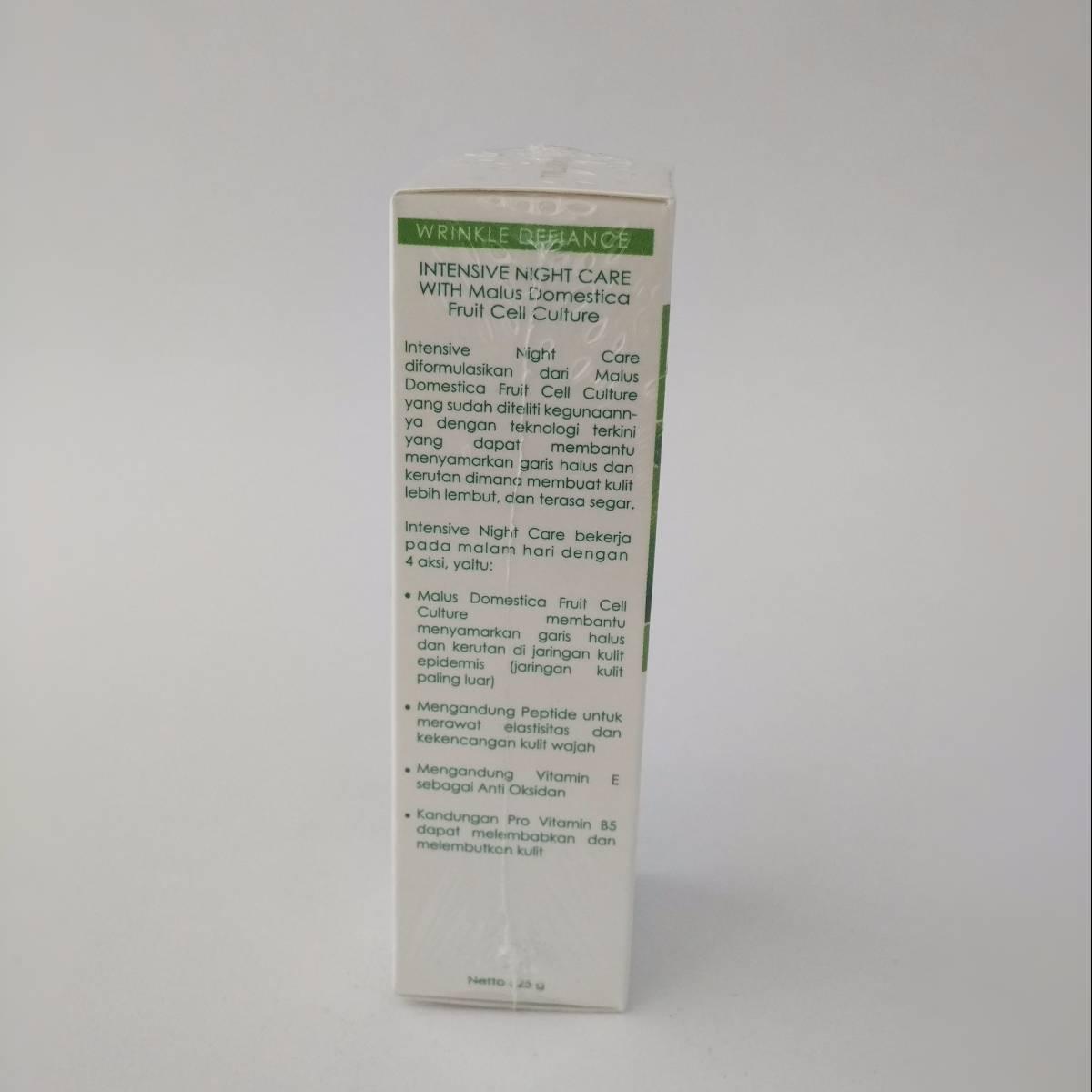 Trisia Intensive Night Care Anti Wrinkle Defiance Series Anti Penuaan2
