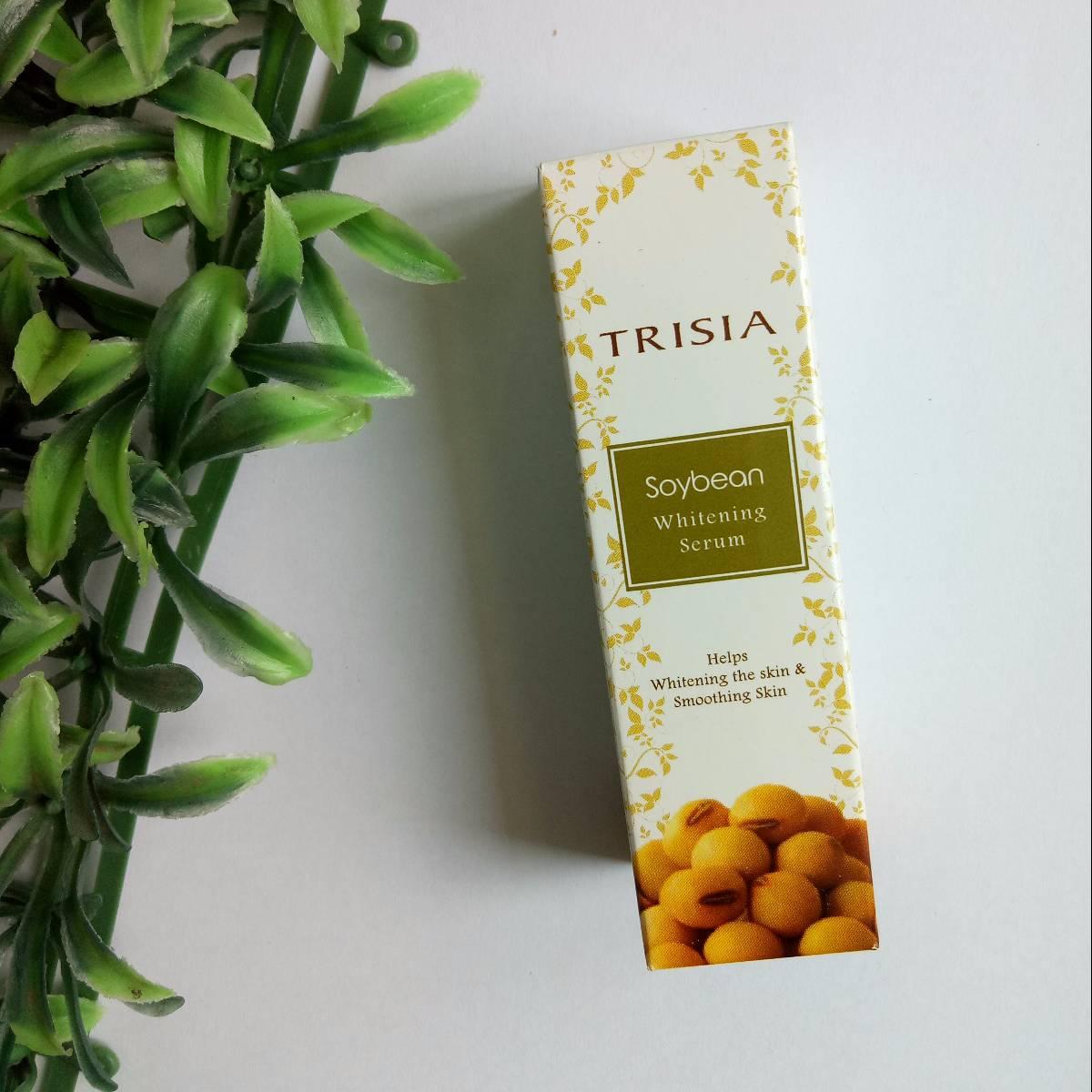 Trisia Soybean Whitening Serum Pemutih Wajah