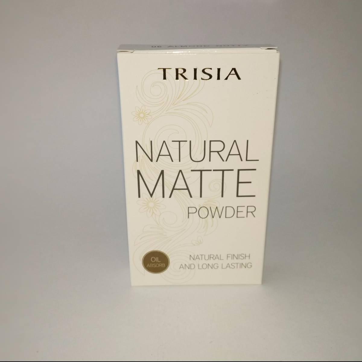 Trisia Two Way Cake Twc Natural Matte Powder Bedak Wajah1