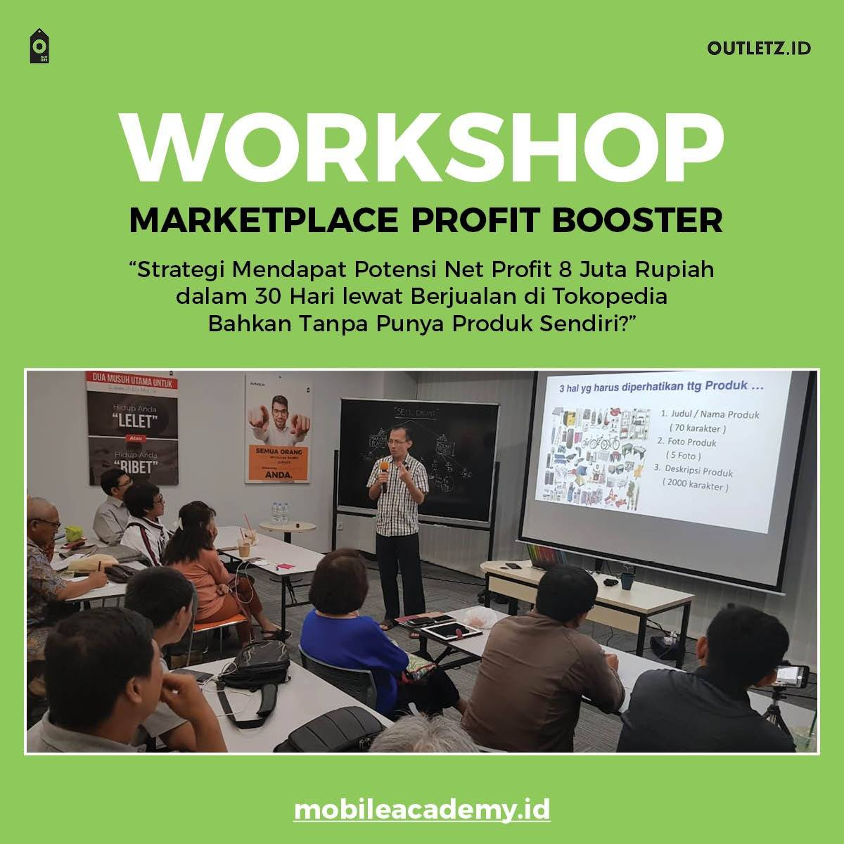 Workshop Marketplace Profit Booster2