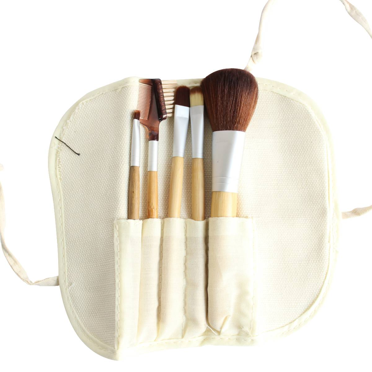 Bamboo Make Up Brush 5pc/ Set