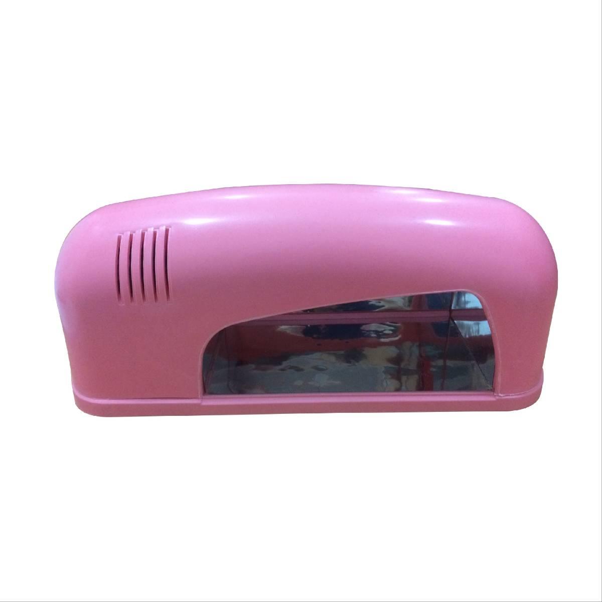 Nail Dryer Uv 9 Pink - Berfungsi Mengeringkan Kutek Kuku