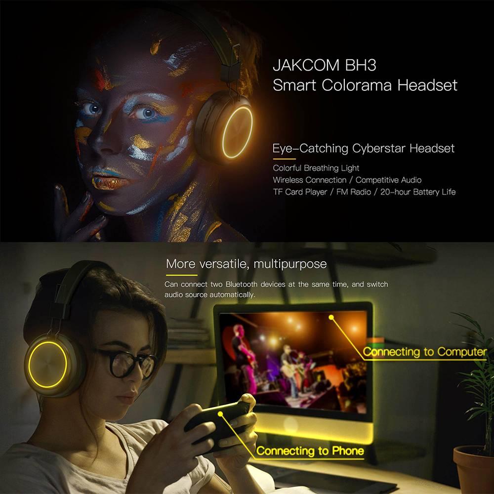 Jakcom BH3 Smart Colorama Bluetooth Headset Wireless Headphones1